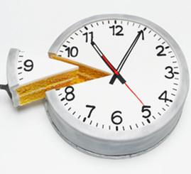 cortar el tiempo