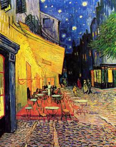 Terraza de café _ Vincent Van Gogh