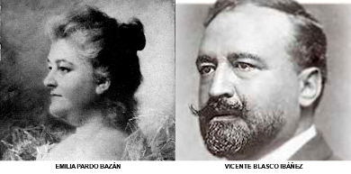 EMILIA PARDO BAZÁN Y VICENTE BLASCO IBÁÑEZ