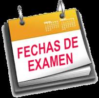 Fechas de exámenes